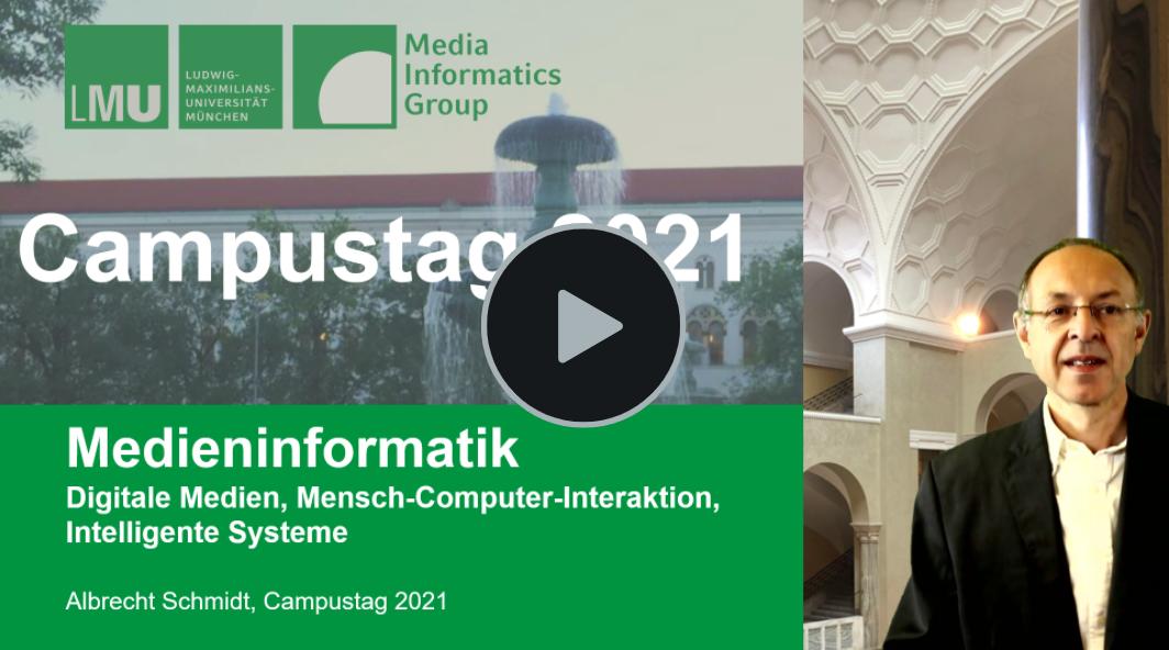Vortragstitel Medieninformatik Campustag 2021